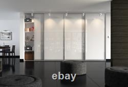 2,3,4,5 & 6 Door Sliding Wardrobe Doors With Warranty, Free Track And Delivery