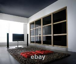 2 Door Sliding Wardrobe System with tracks customised to your measurements