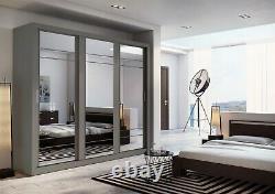 Brand New Modern Arti 2 3 Sliding Door Wardrobe 250cm in 3 colours