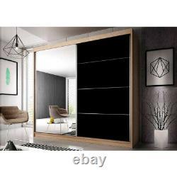 Brand new Mirrored Wardrobe MU31 sliding door perfect interior FREE DELIVERY