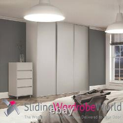 Cashmere & Mirror Space Pro'Classic' Sliding Wardrobe Door & track (All sizes)