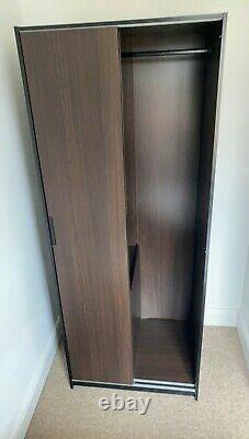 Double mirror wardrobe sliding doors