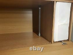 IKEA Elegant Pax Wardrobe, mirror sliding+side doors+accessories-FREE delivery