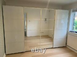 IKEA Pax Wardrobe With Sliding Doors