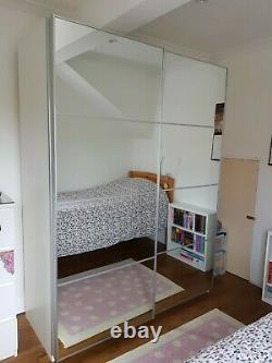 IKEA Pax Wardrobe with Sliding Mirror Doors 150cm wide
