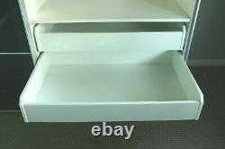 Ikea Pax Uggdal Sliding Doors Large Bedroom Wardrove 2mx2mx66cm Grey Glass
