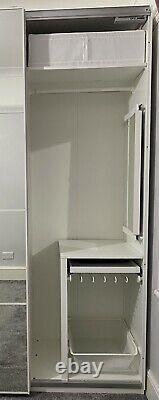 Ikea Pax White Sliding Door Wardrobe