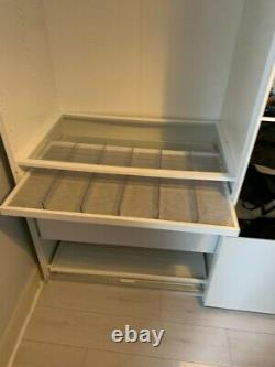 Ikea pax wardrobe sliding doors. RRP 720£