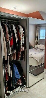 Ikea wardrobe With Pax Mirror Sliding Doors