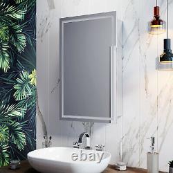 LED Sliding Door Rigth or Left Bathroom Mirror Cabinet Wall Hanging Sensor