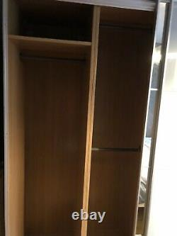 Large Ikea Pax wardrobe with sliding doors 200cm W X 58cm D X 200cm H Mirror