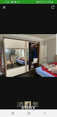 Large sliding door wardrobe