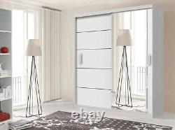 Leon Modern Bedroom 2 Or 3 Sliding Door Wardrobe