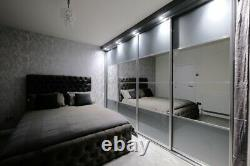 Luxury Bespoke Made to Measure Sliding Wardrobe Doors l SHOWROOM OPEN
