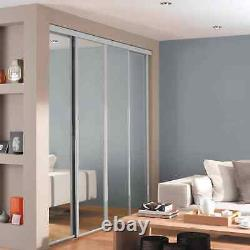 Made to Measure Soft White Fitted Wardrobe Sliding Doors (Any custom size)