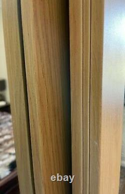 Mirrored wardrobe sliding doors used- 3 doors available