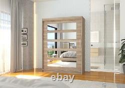 Modern Design High Quality 2 sliding door wardrobe MURANI 150 cm Free delivery
