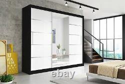 Modern Sliding Door Wardrobe Solid Quality 250 cm widthFast Delivery