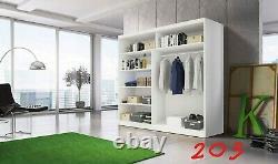 Modern design Perfect interior 2 sliding door Wardrobe MU 32 FREE DELIVERY