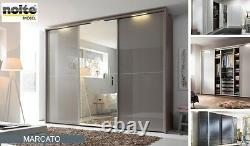 Nolte Mobel Marcato Mirrored Sliding Door Wardrobe 180 x 223 x 65 cm (W x H x D)