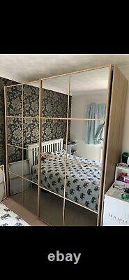 Nolte double wardrobe With Sliding Doors