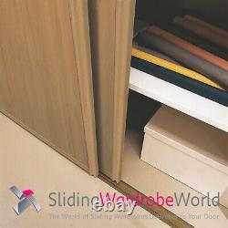 OAK & Mirror'Classic' Sliding Wardrobe Door Kits including tracks (All sizes)