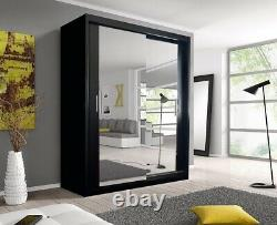 Sliding Door Chicago Full Mirror Modern Wardrobes Free Delivery
