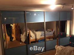 Sliding Wardrobe Mirror Glass Panel Doors. Made To Measure. Custom Design
