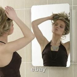 Stainless Steel Bathroom Cabinet Single Sliding Mirror Door J1