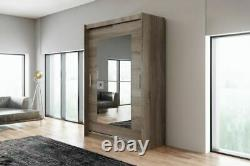 WARDROBE with SLIDING DOORS and MIRROR very MODERN and ELEGANT AVA 12.2