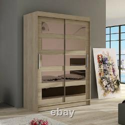 Wardrobe Sliding Doors MIRROR CLOSET very ELEGANT and MODERN BRAND NEW